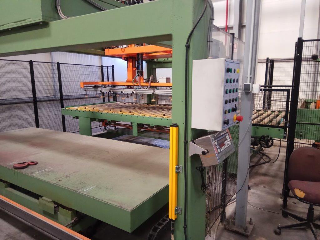 "63"" (1600mm) x 3mm Imeas Sheet to Sheet Polishing Line Year 2007"