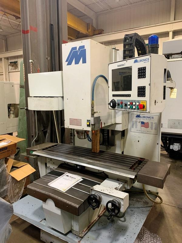 MILLTRONICS RH20 CNC VERTICAL MACHINING CENTER