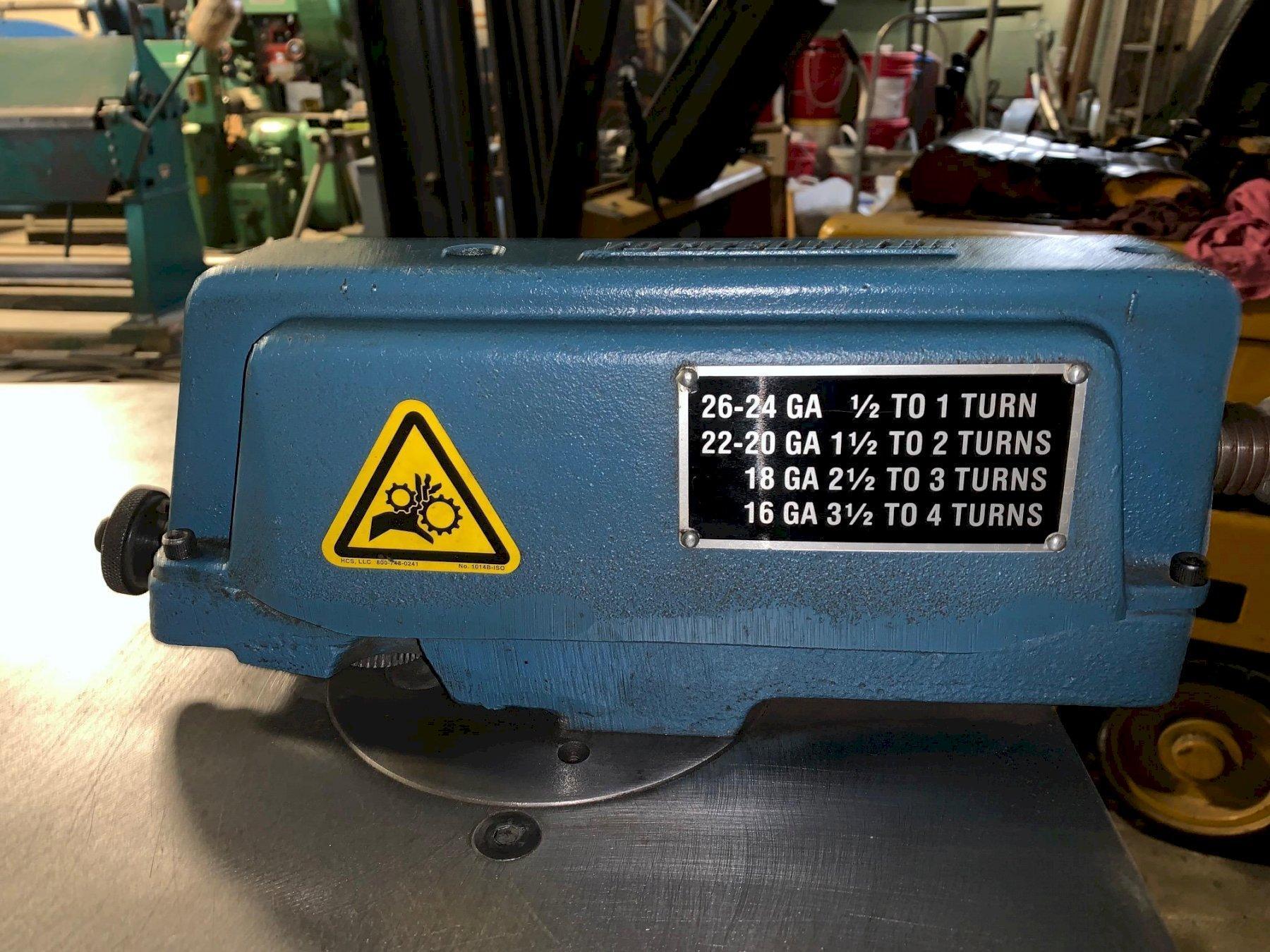 16 Ga Used Lockformer Auto Guide Power Flanger