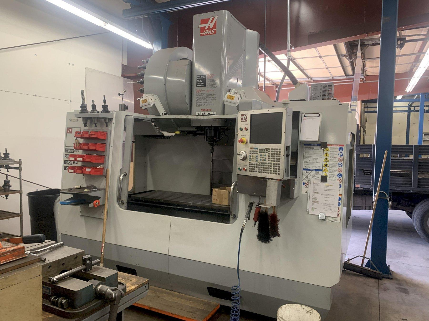 HAAS VF3-YT/50 VERTICAL MACHINING CENTER, NEW 2008: STOCK #12964