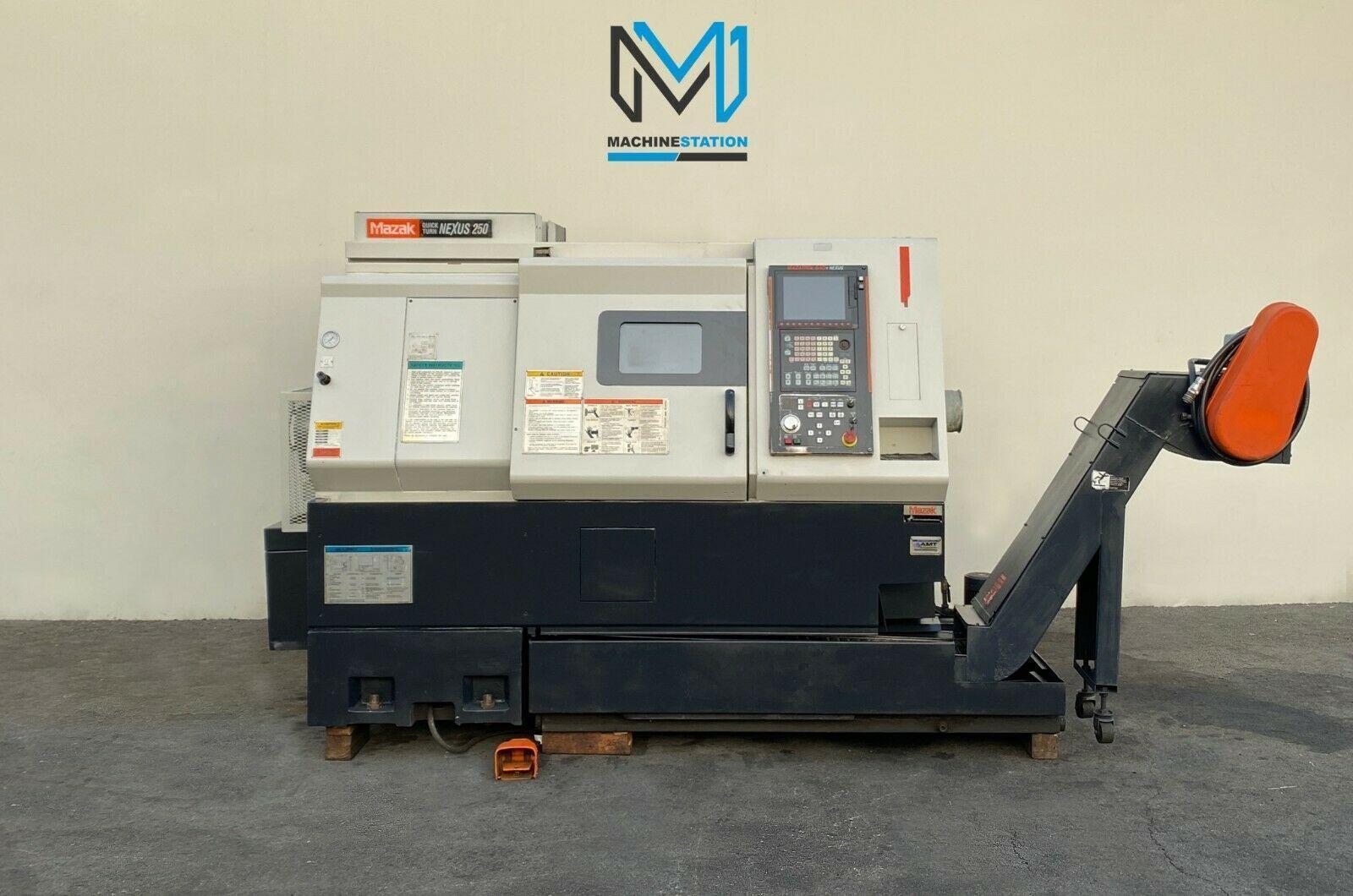 MAZAK QUICK TURN NEXUS QTN-250 CNC TURNING CENTER