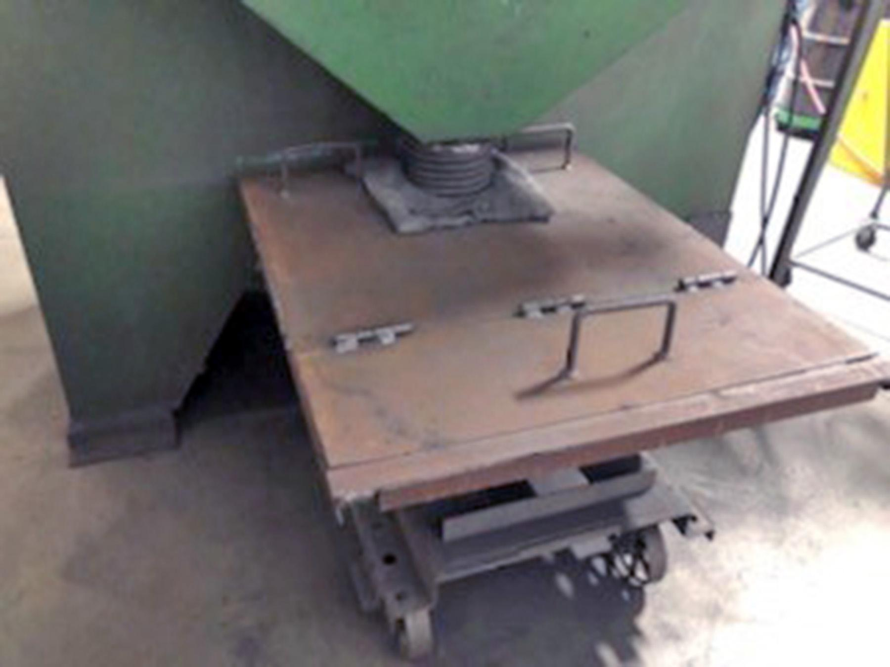 "USED, 60"" PANGBORN ROTARY TABLE BLAST MACHINE"