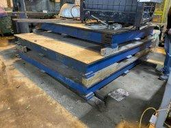 USED 6' X 8' STEEL SURFACE PLATE, Stock# 10867