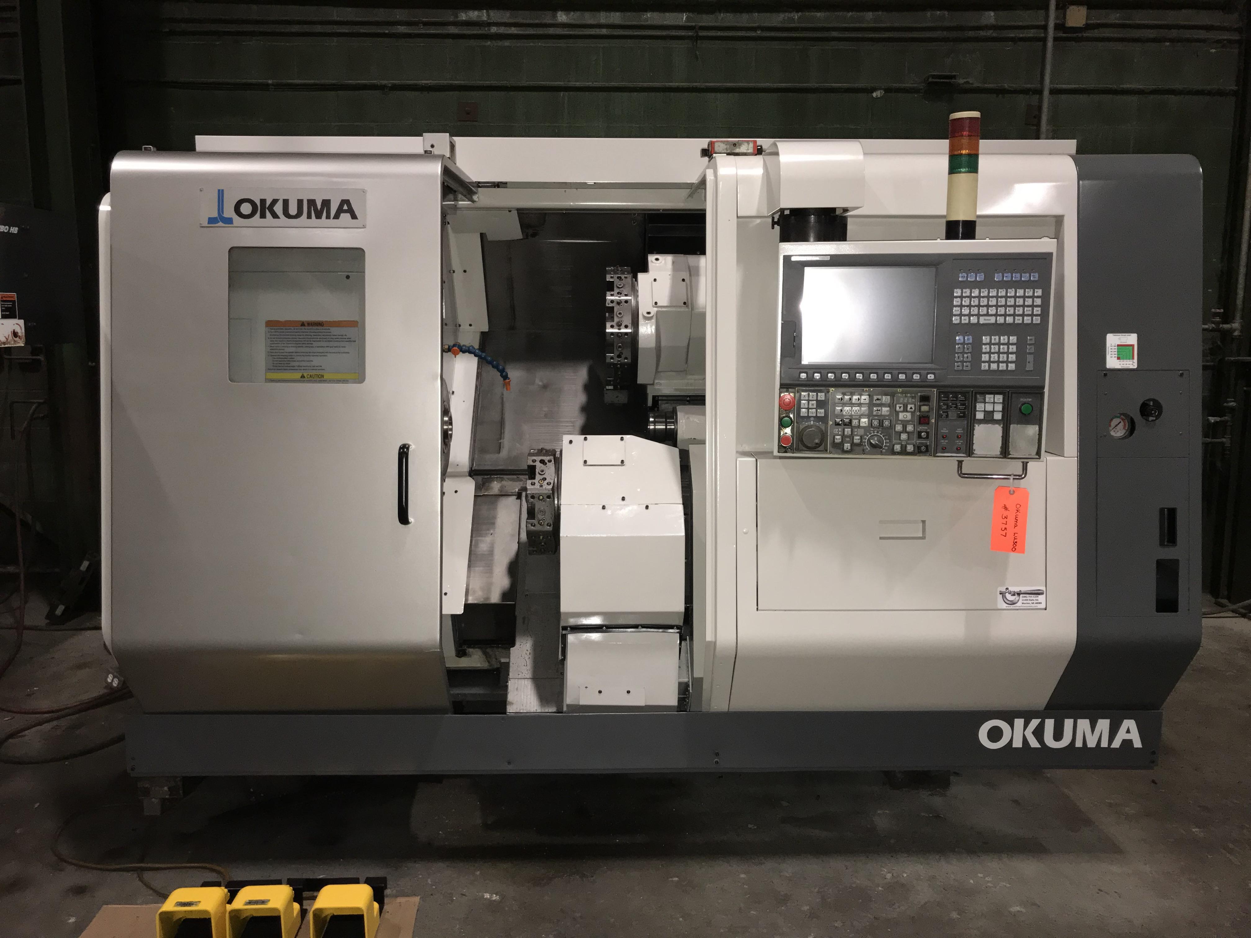 OKUMA LU-300 SIMULTURN
