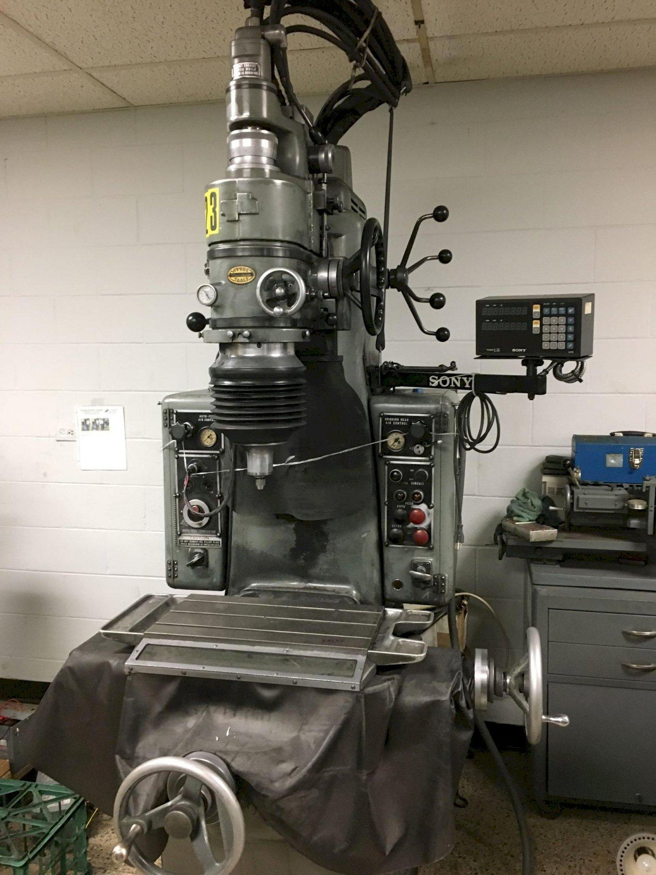 Moore Model No. 2 Precision Jig Grinder, S/N 7336.