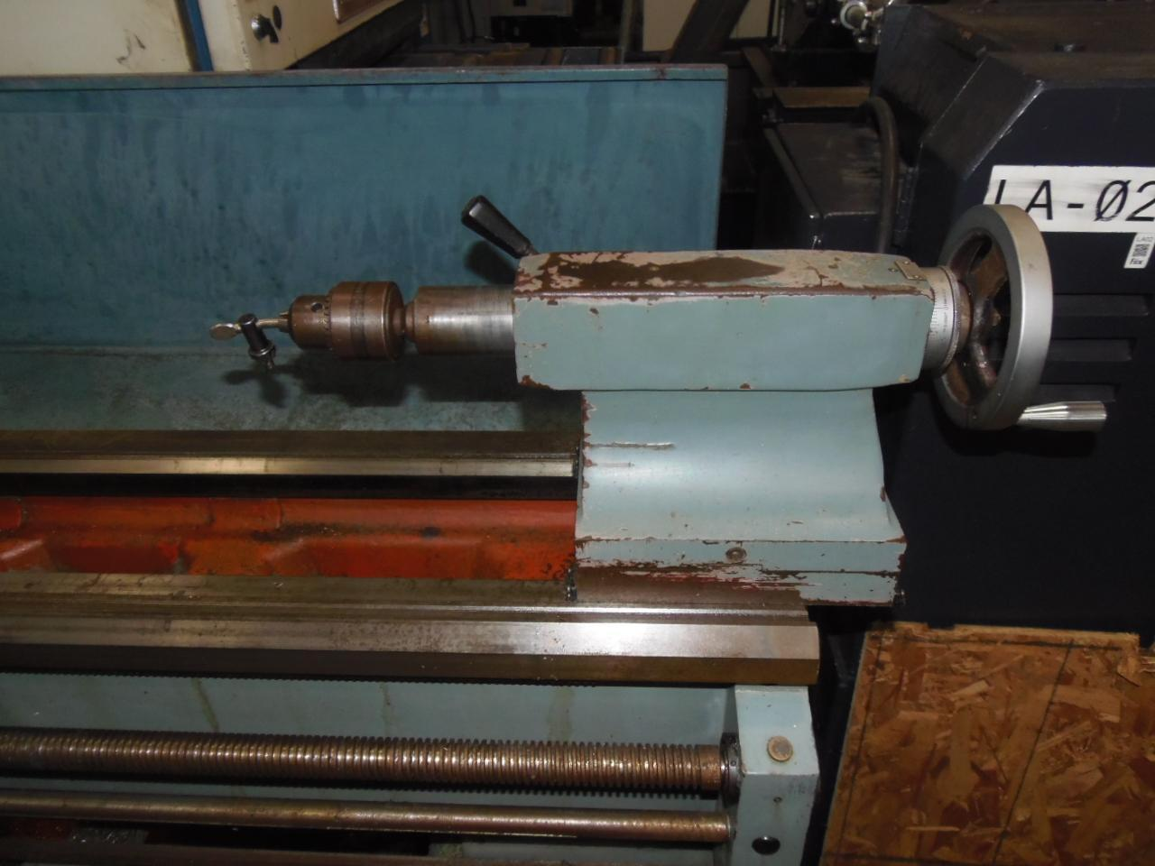"16"" x 60"" VICTOR ENGINE LATHE, MODEL 1660G, 10"" 3-JAW CHUCK, TAILSTOCK, 2"" HOLE, MANUALS"