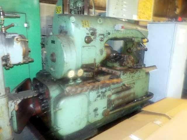 Barber-Colman Type D Gear Hobbing Machine