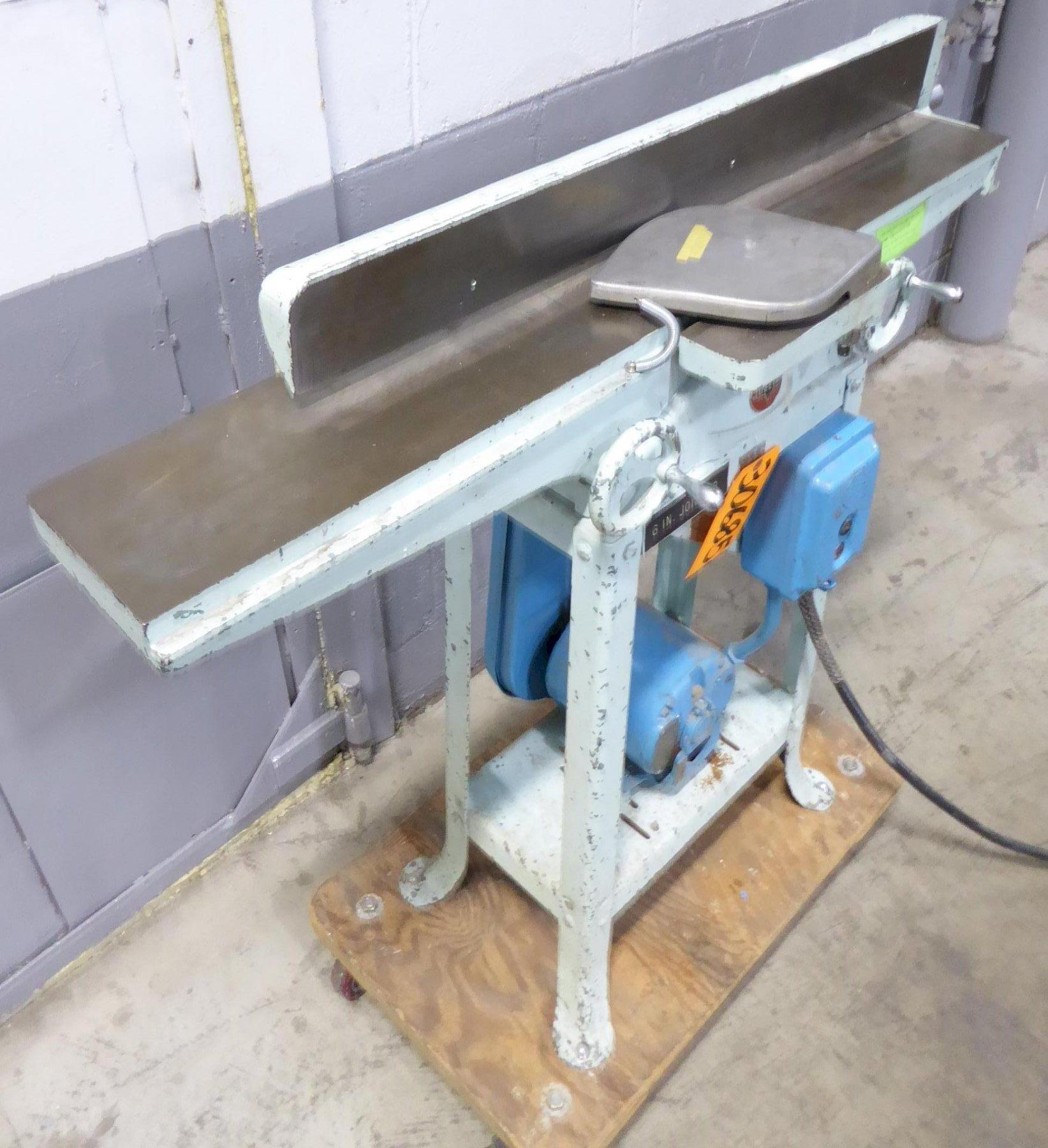 """6"""" Delta Jointer, Factory Stand"""