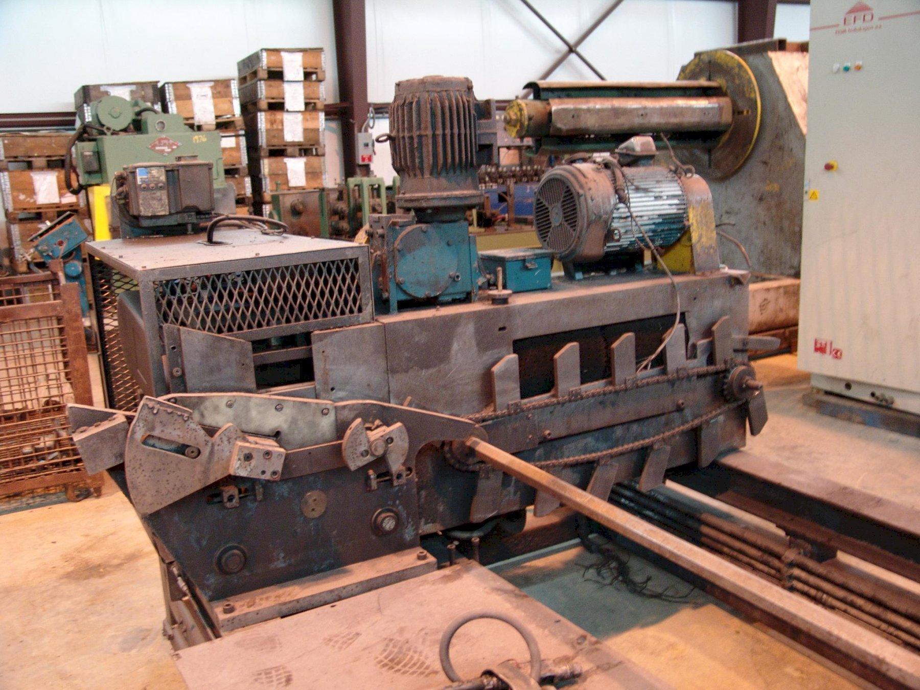 Buckeye #191-97020 Dedimpler & Deburring Machine