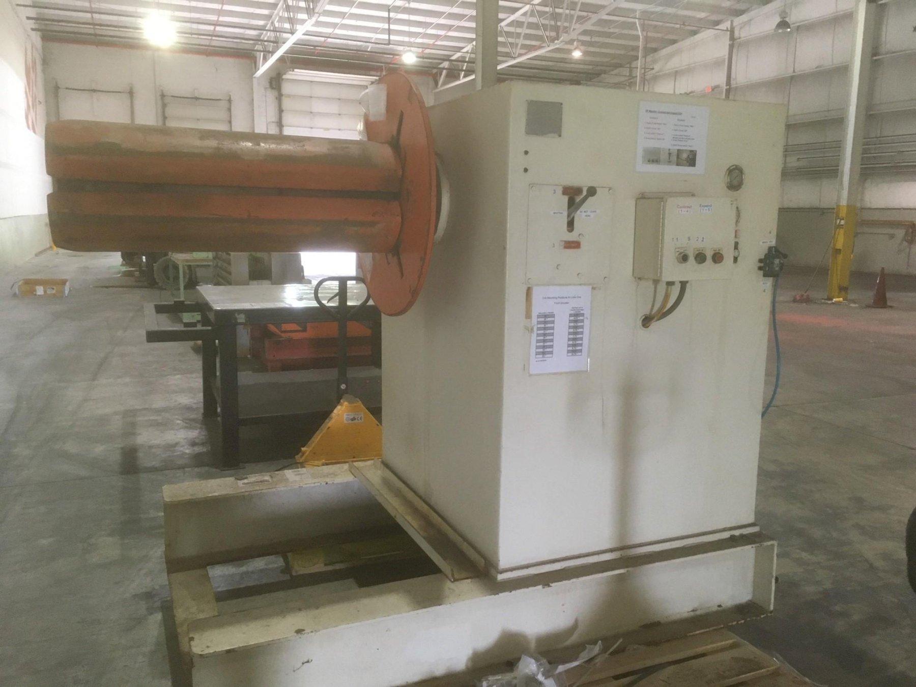 American Steel Line Motorized Coil Reel 10,000 Lb