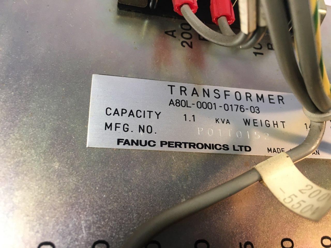 1.1 KVA FANUC PERTRONICS TRANSFORMER A80L-0001-0176-03