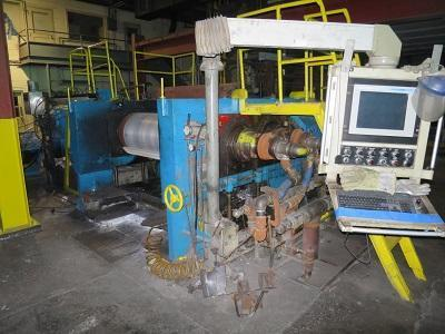 """65"""" HUNTER CONTINUOUS ALUMINUM CASTING LINE   Our stock number: 114144"""