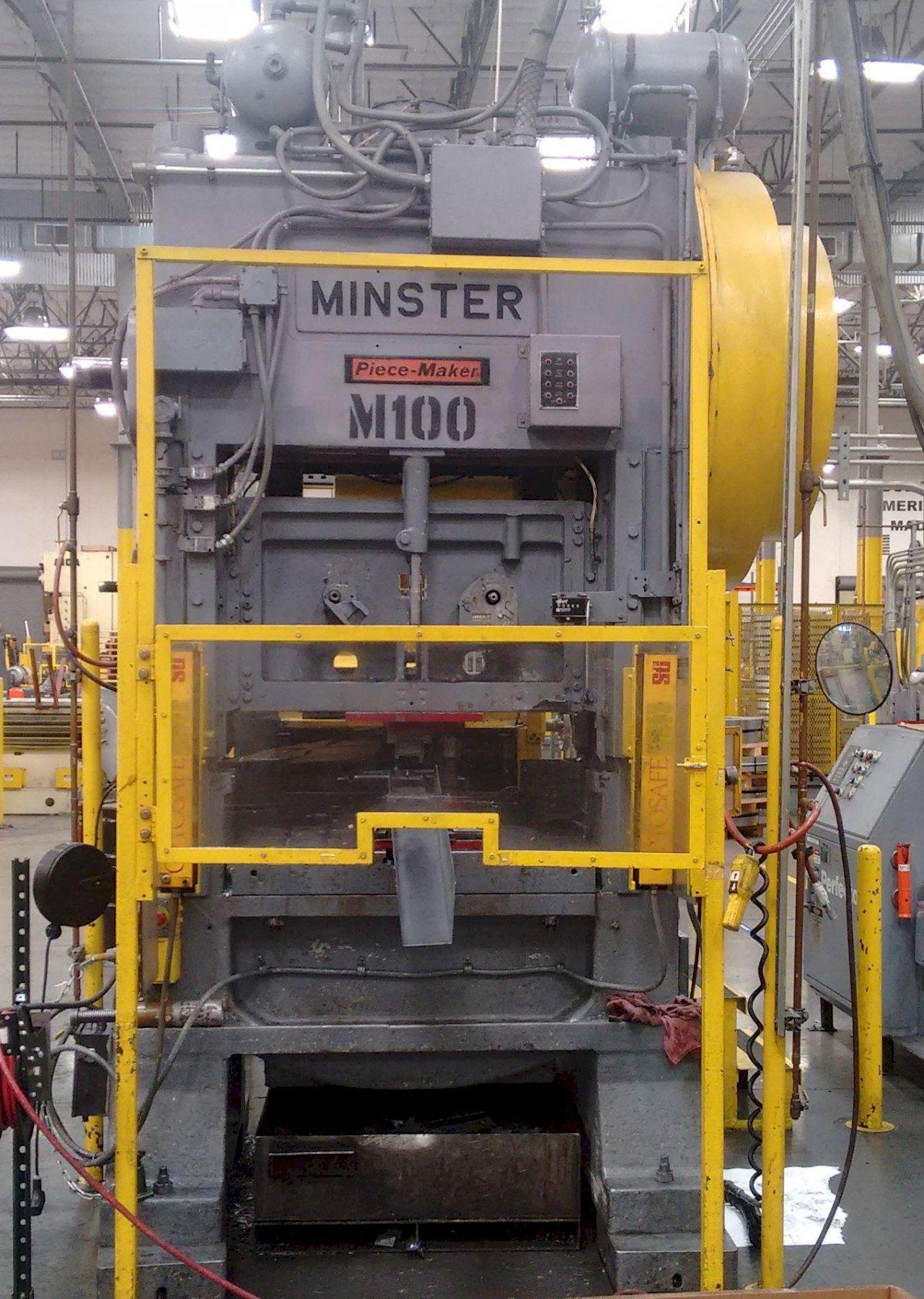 Minster P2-100-42 Straight Side Press, Used
