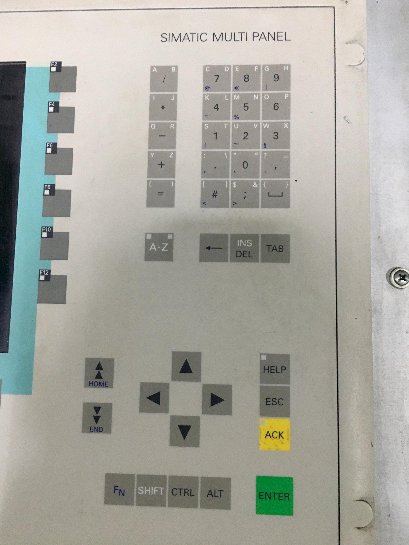 SIEMENS CONTROL 760 HMI MACHINE INTERFACE, Simatic Multipanel