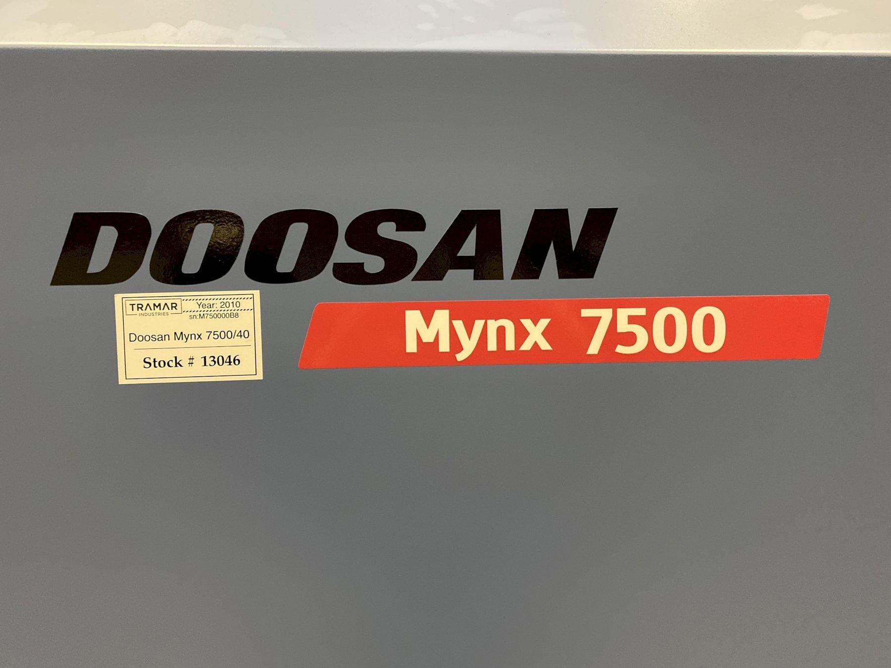 2010 DOOSAN Mynx 7500 - Vertical Machining Center