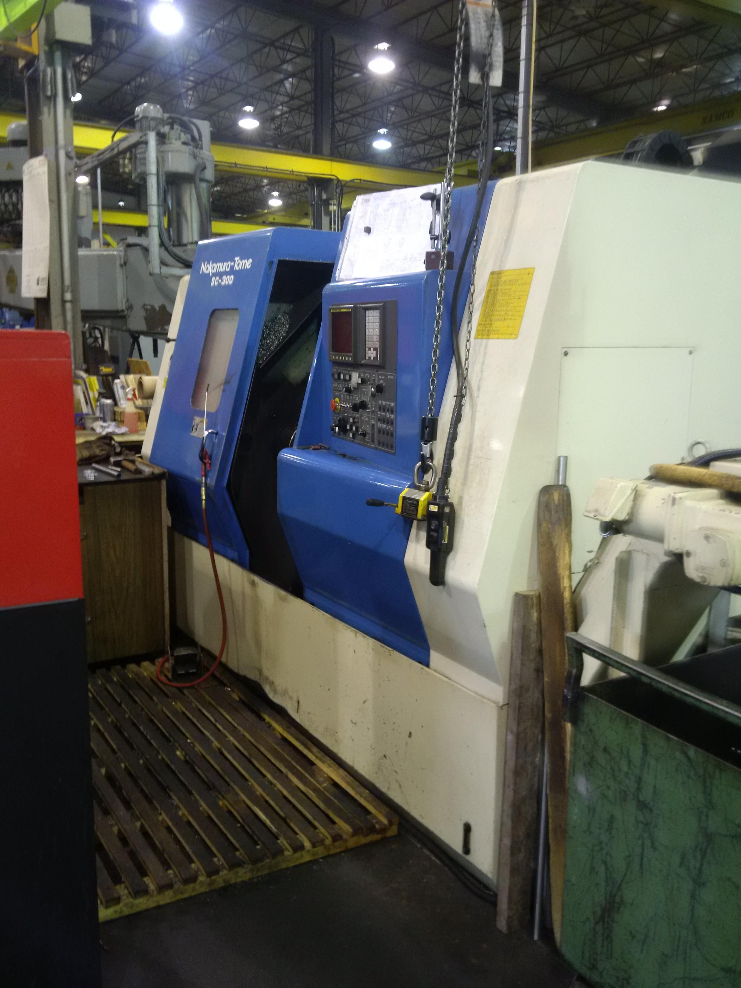 Nakamura Tome SC-300 CNC Lathe, Fanuc 0T, 10
