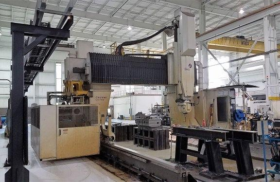 "FIVES / CINCINNATI MAG U5-1500, 5 FACE CNC TRAVELING GANTRY  MILLING MACHINE 1152"" x  144"" x 60"", 07'"