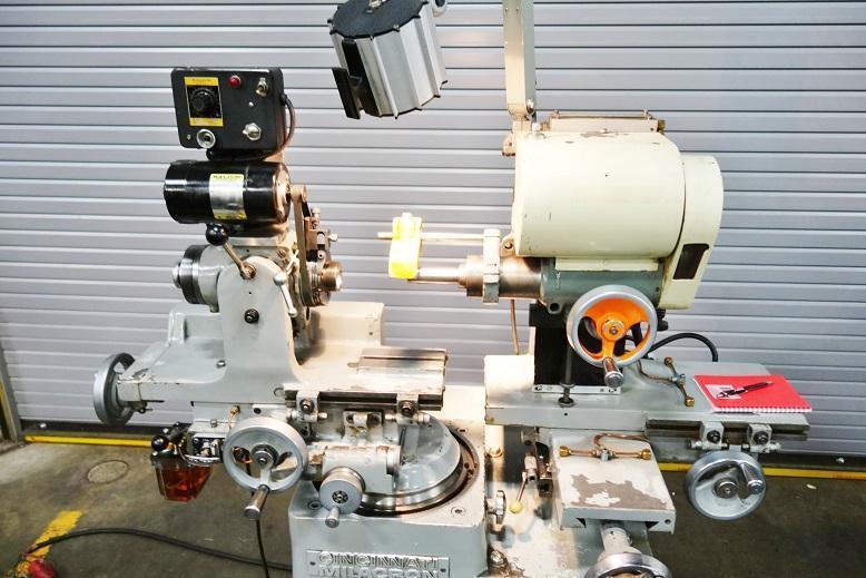 CINCINNATI- MILACRON MONOSET MODEL MT REBUILT IN 2001 TOOL & CUTTER GRINDER