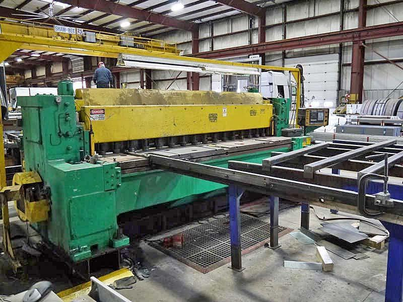 "0.375"" x 10' Wysong Power Sq. Shear"