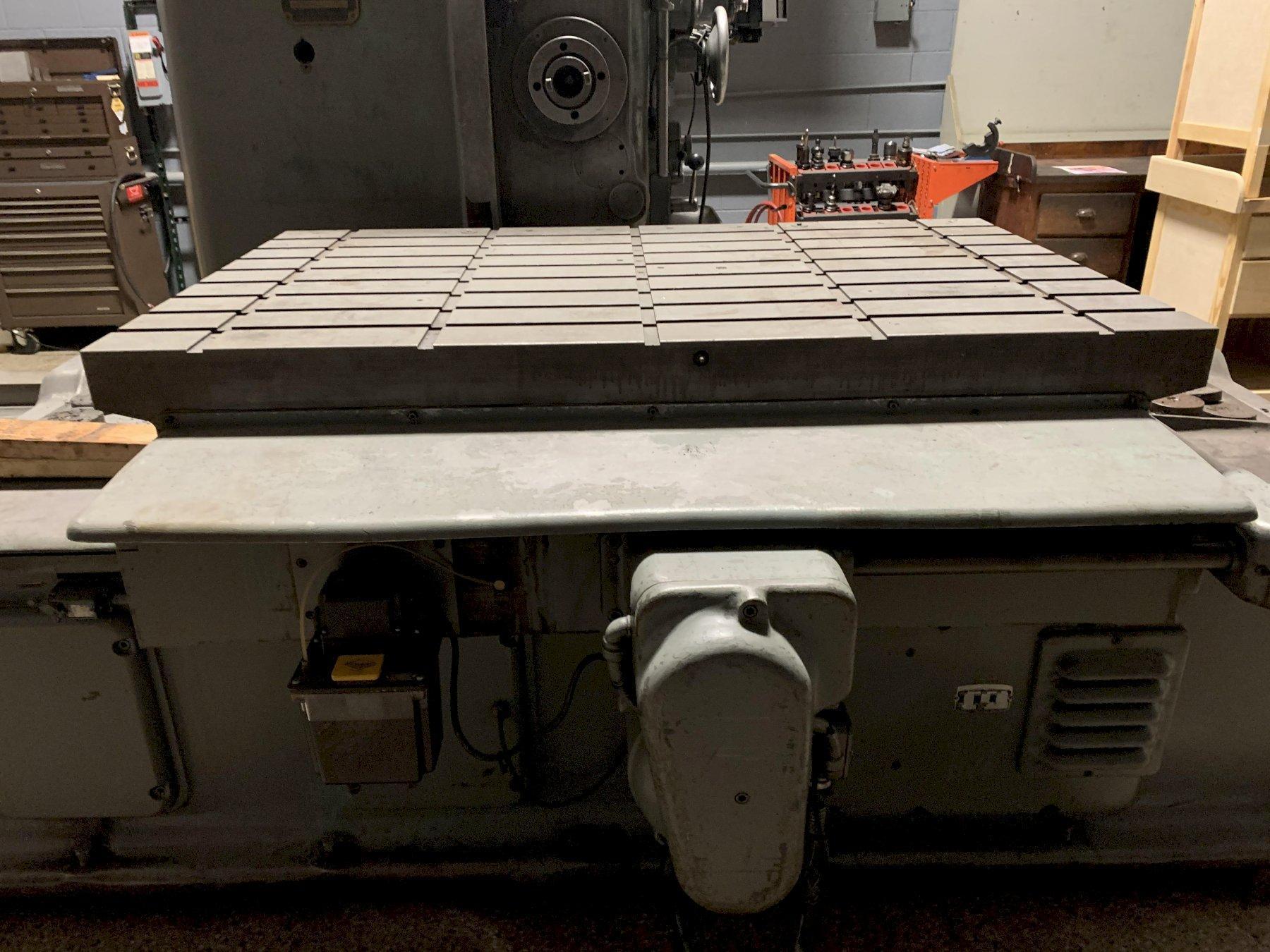 Devlieg 4B-60 Horizontal Jig Mil Boring Mill, S/N 11-191. As is price.