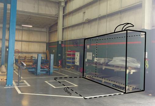 High Production Paint Booth