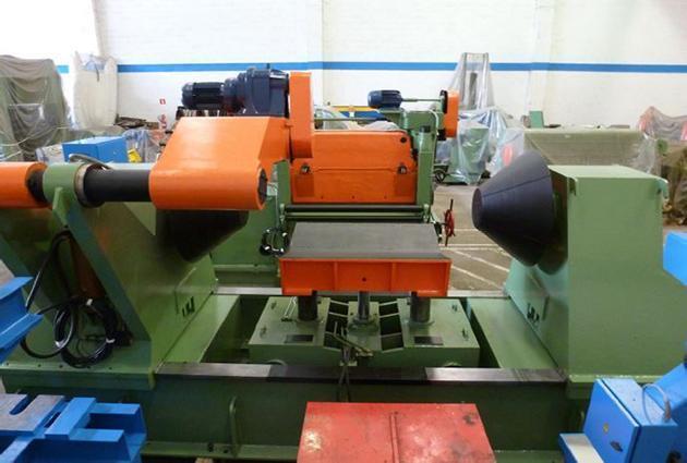 "52"" (1350mm) x .250"" (6mm) x 30,000# Bonak/Ungerer Cut-to-Length Line"