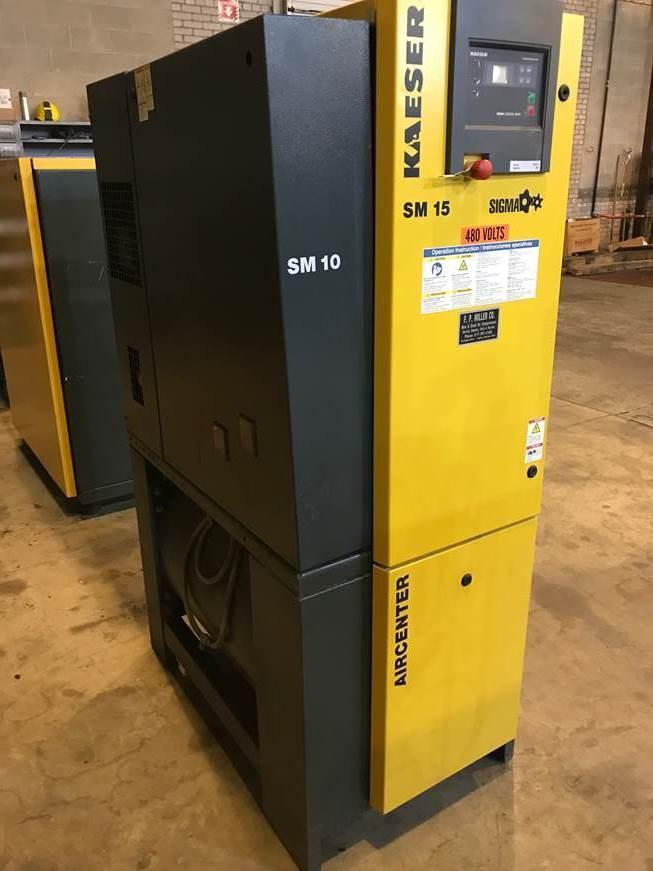 Kaeser SM 15 AirCenter Rotary Screw air compressor