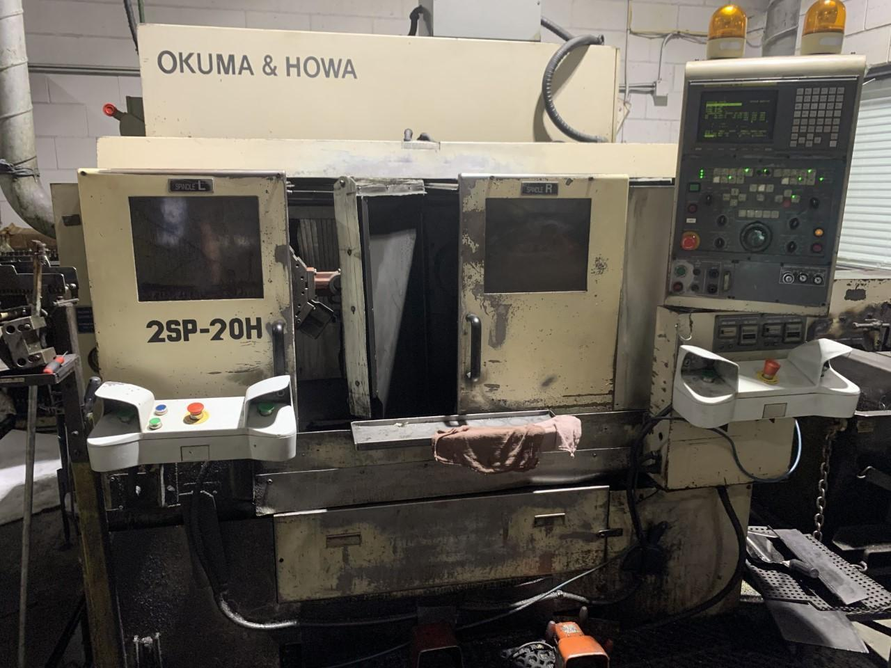 Okuma Howa 2SP-20H  Turning Center