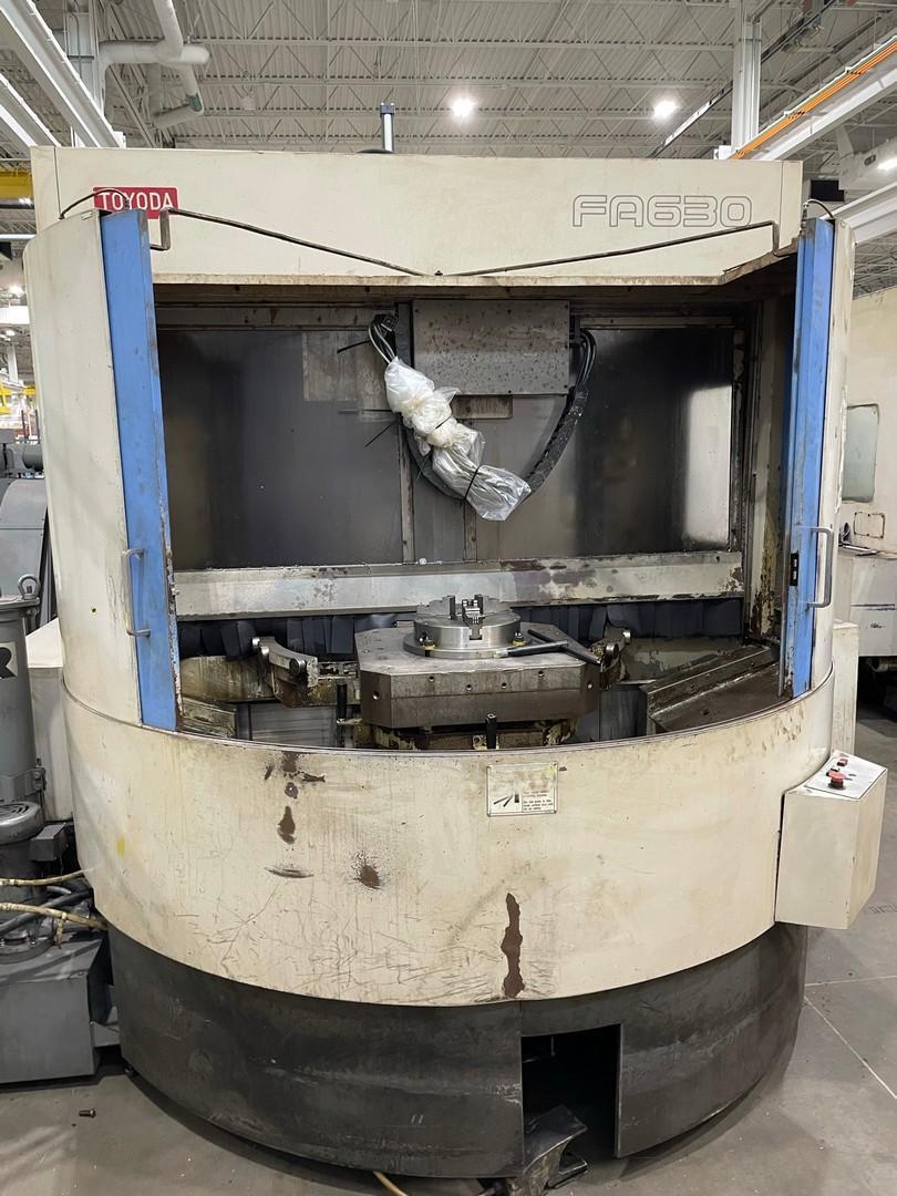 TOYODAToyoda FA630 CNC Horizontal Machining Center - 2 Available!