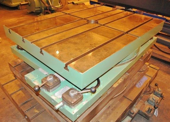 "36"" x 48"" Giddins & Lewis Airlift Rotary Table