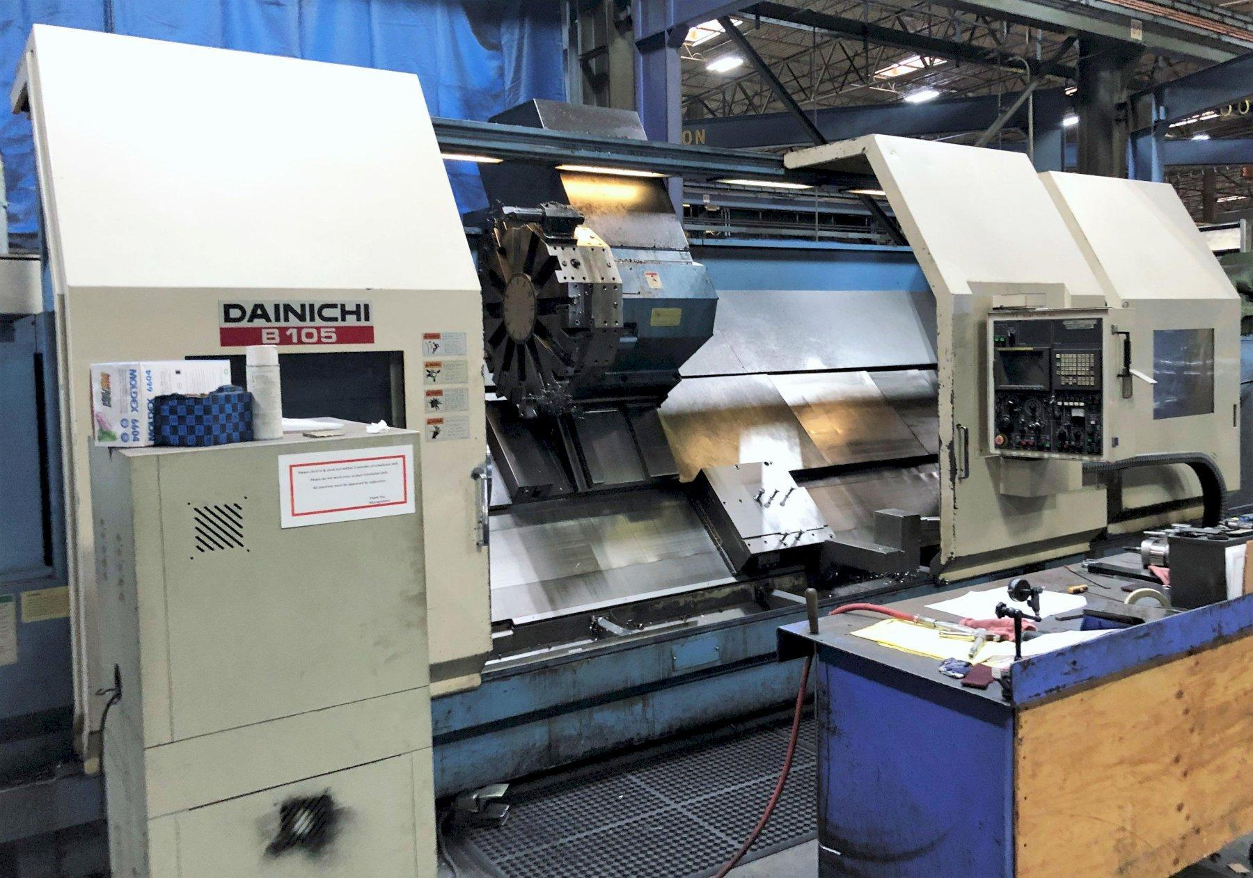 Dainichi BX-105/4000 Hollow Spindle Heavy Duty CNC Lathe