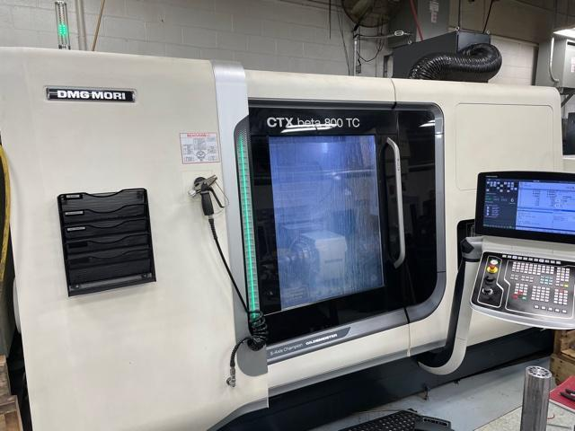 DMG Mori CTX beta 800TC CNC Turn Mill Lathe