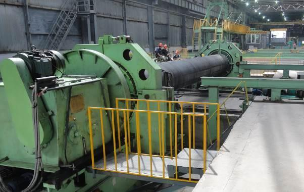 """48"""" (1220mm) Galaxie H.E. Pipe End Facing & Beveling Machine"""