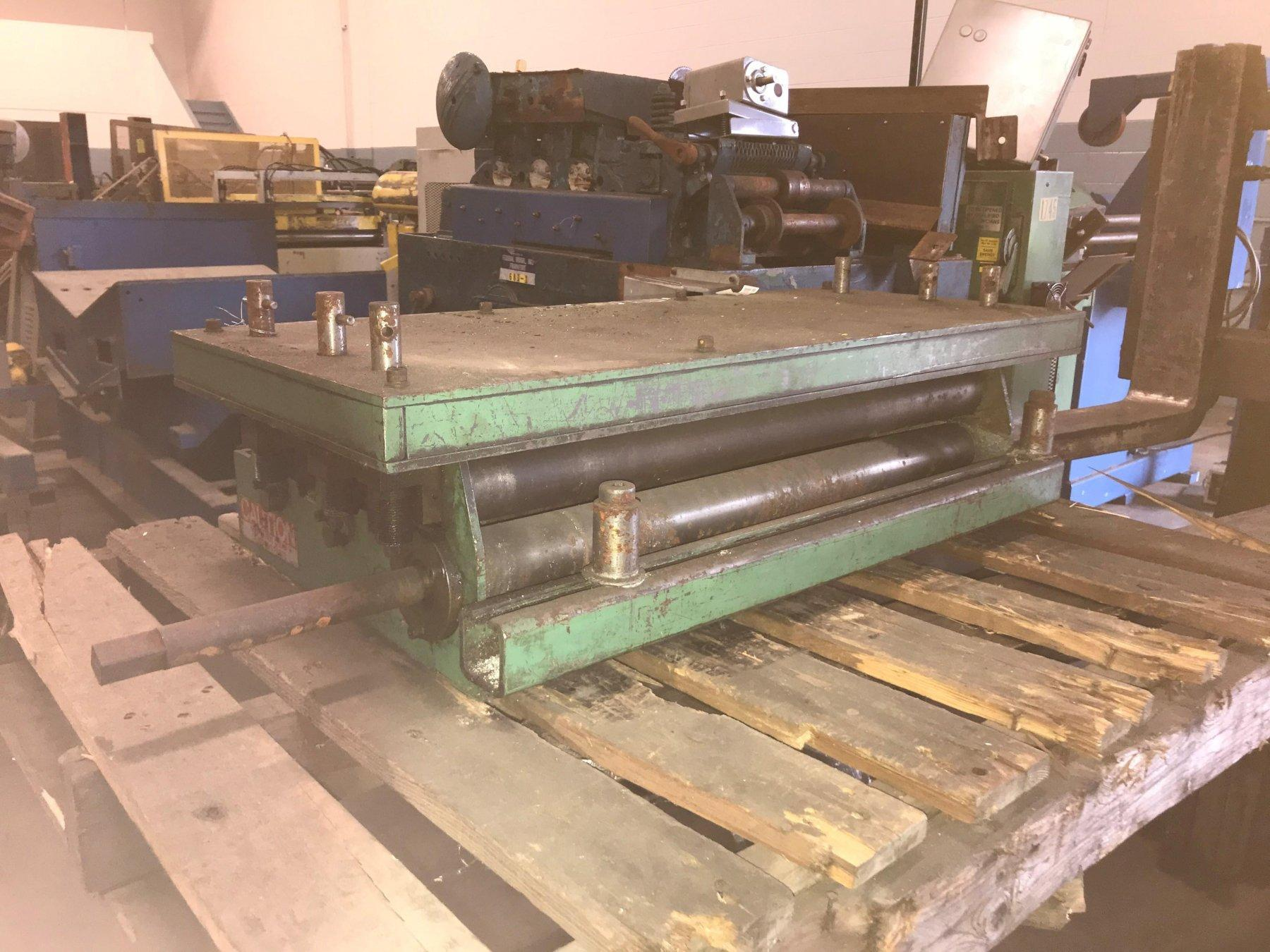 CHS Automation Pull Thru Coil Straightener 24