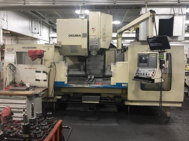 Okuma MC-60VAE CNC Vertical Machining Center, OSP 7000M, 59