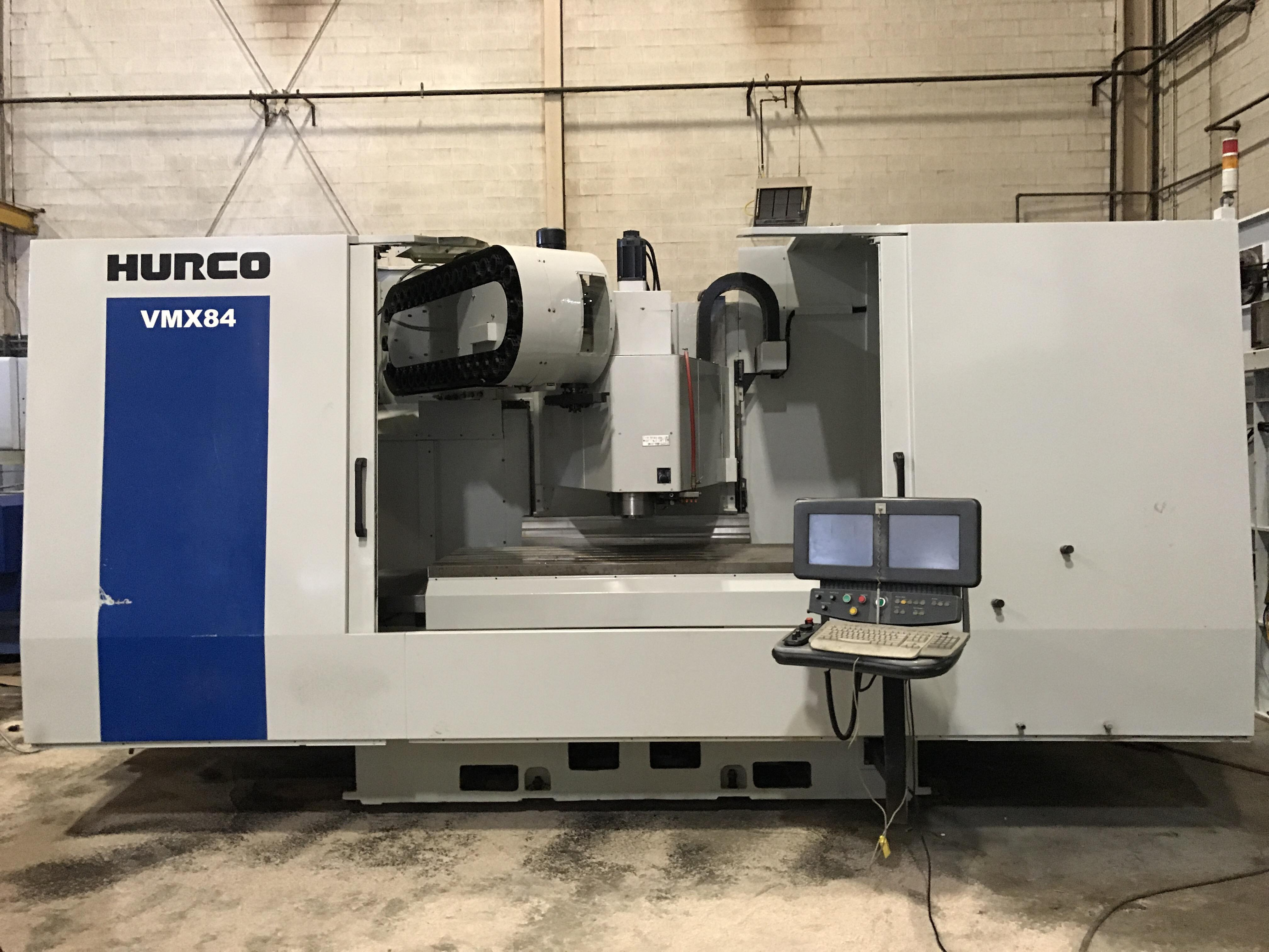 2012 HURCO VMX-84 - Vertical Machining Center