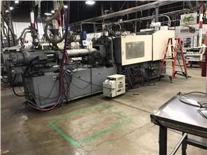 Nissei Used FN6000-71A Injection Molding Machine, 309 US ton, Yr. 1997, 29.9 oz.