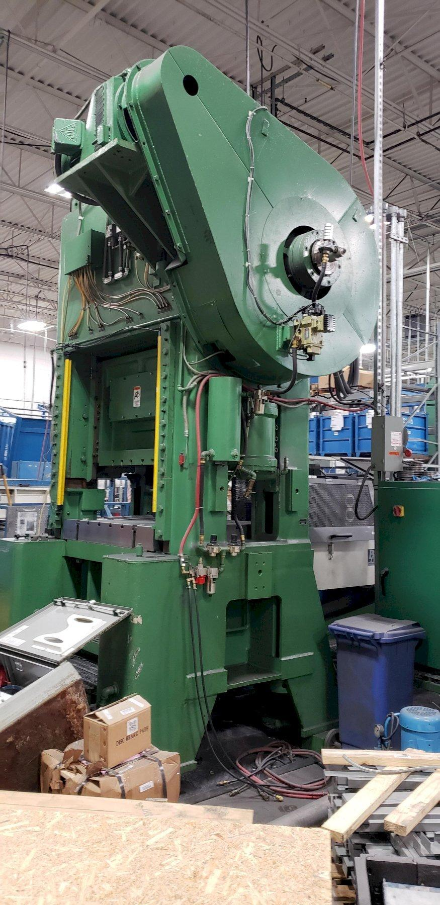 "200 TON MINSTER P2-200-48 GEARED ""PIECE-MAKER"" SSDC PRESS: STOCK #12213"