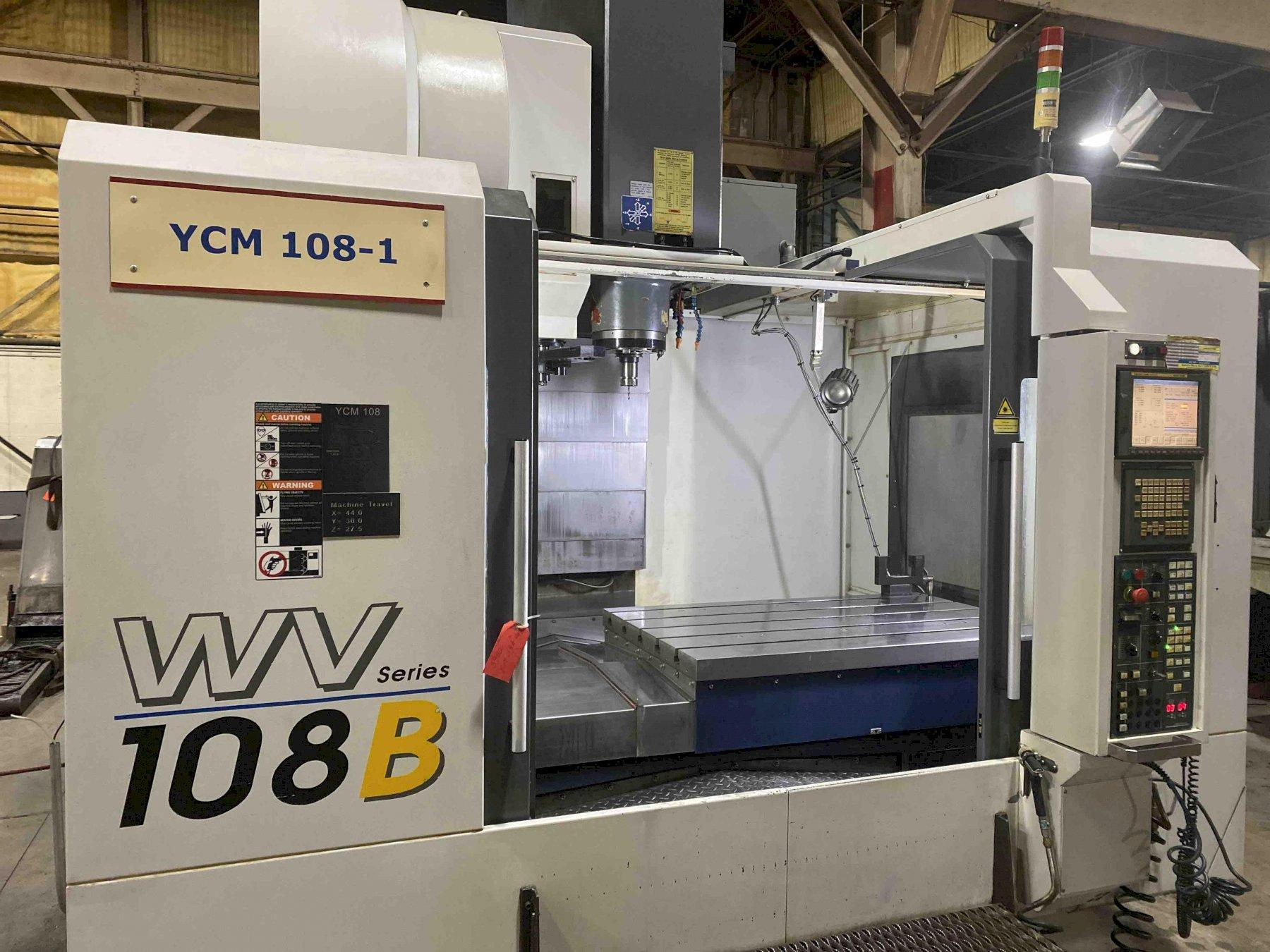 YCM WV-108B CNC Vertical Machining Center, Fanuc MXP-200i, 44
