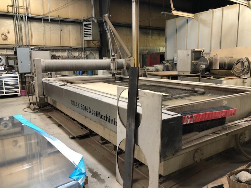 2013 Omax 80160 Waterjet Cutting System