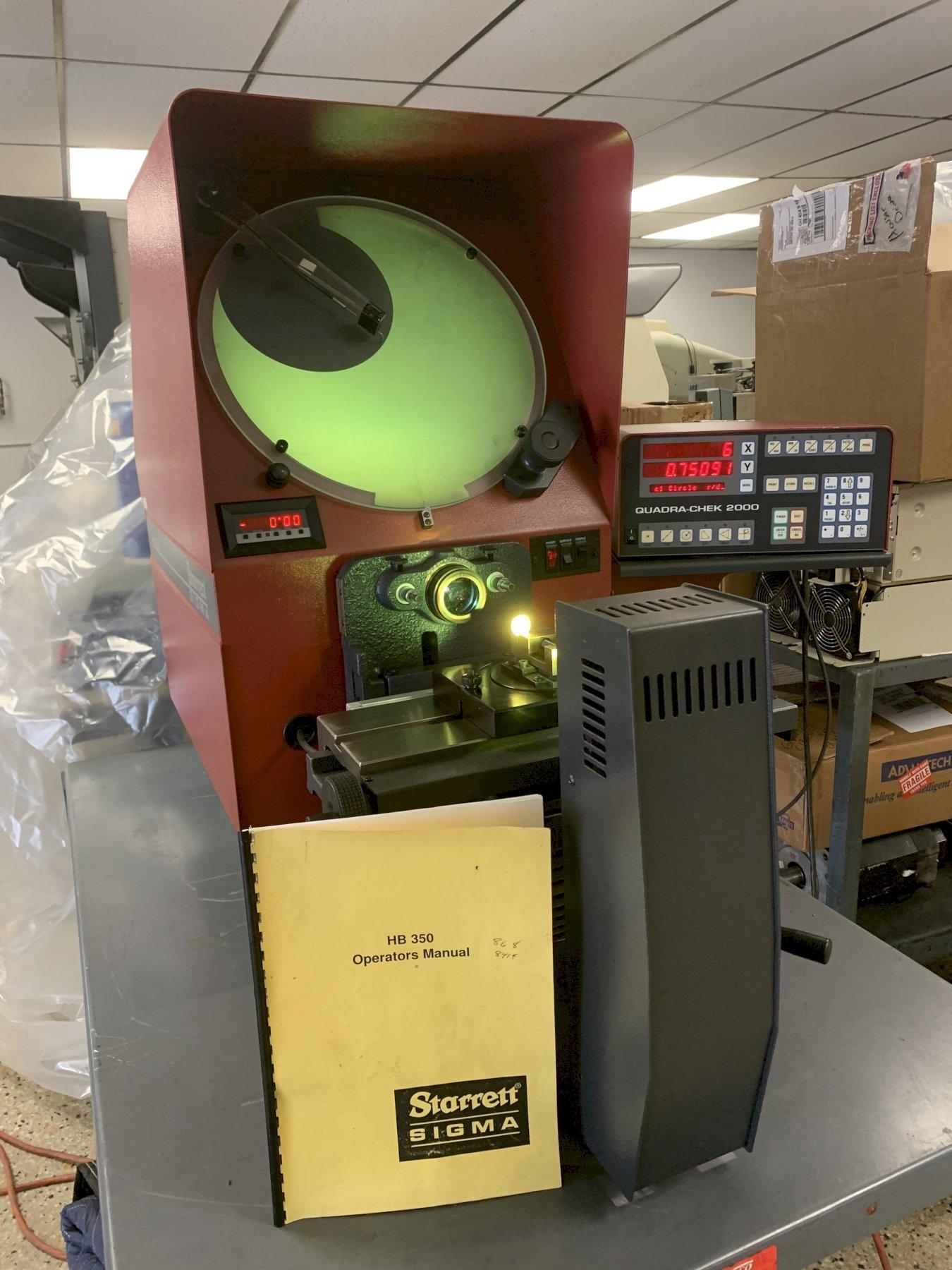 "14"" Starrett Model HB350 Bench Top Optical Comparator"