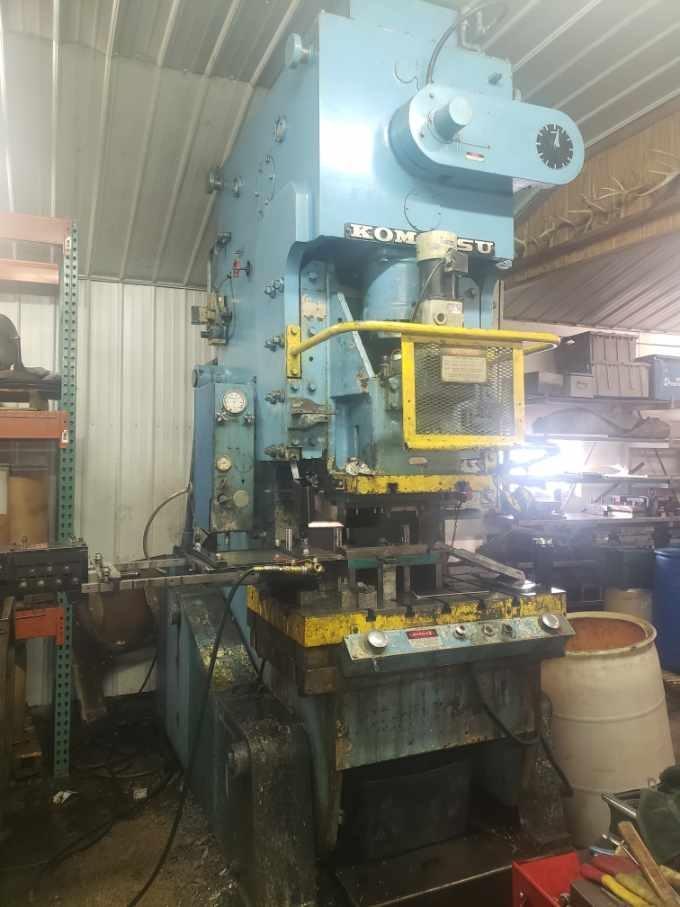 110 ton Komatsu OBS Gap Frame Press