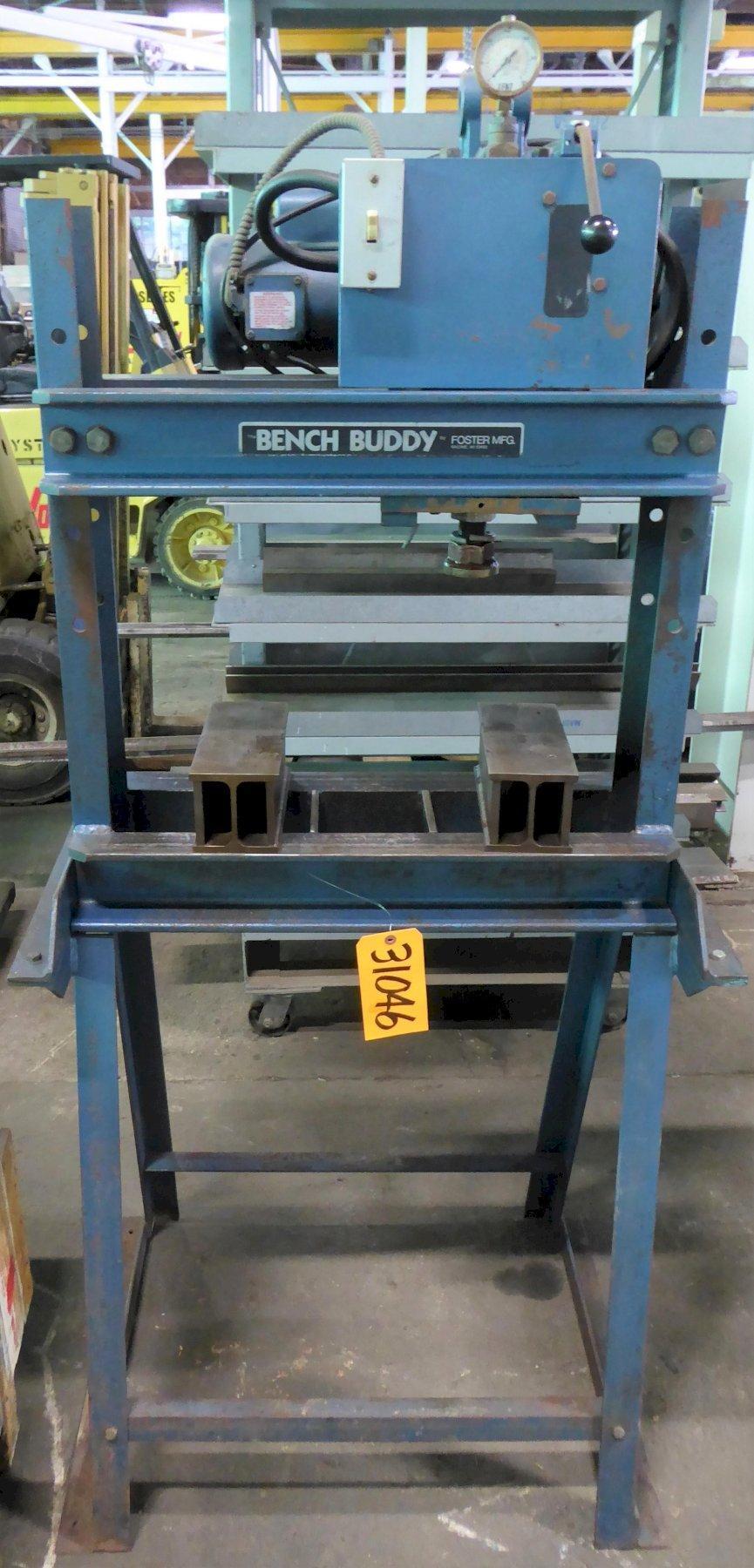 10 Ton Bench Buddy H-Frame Hydraulic Press