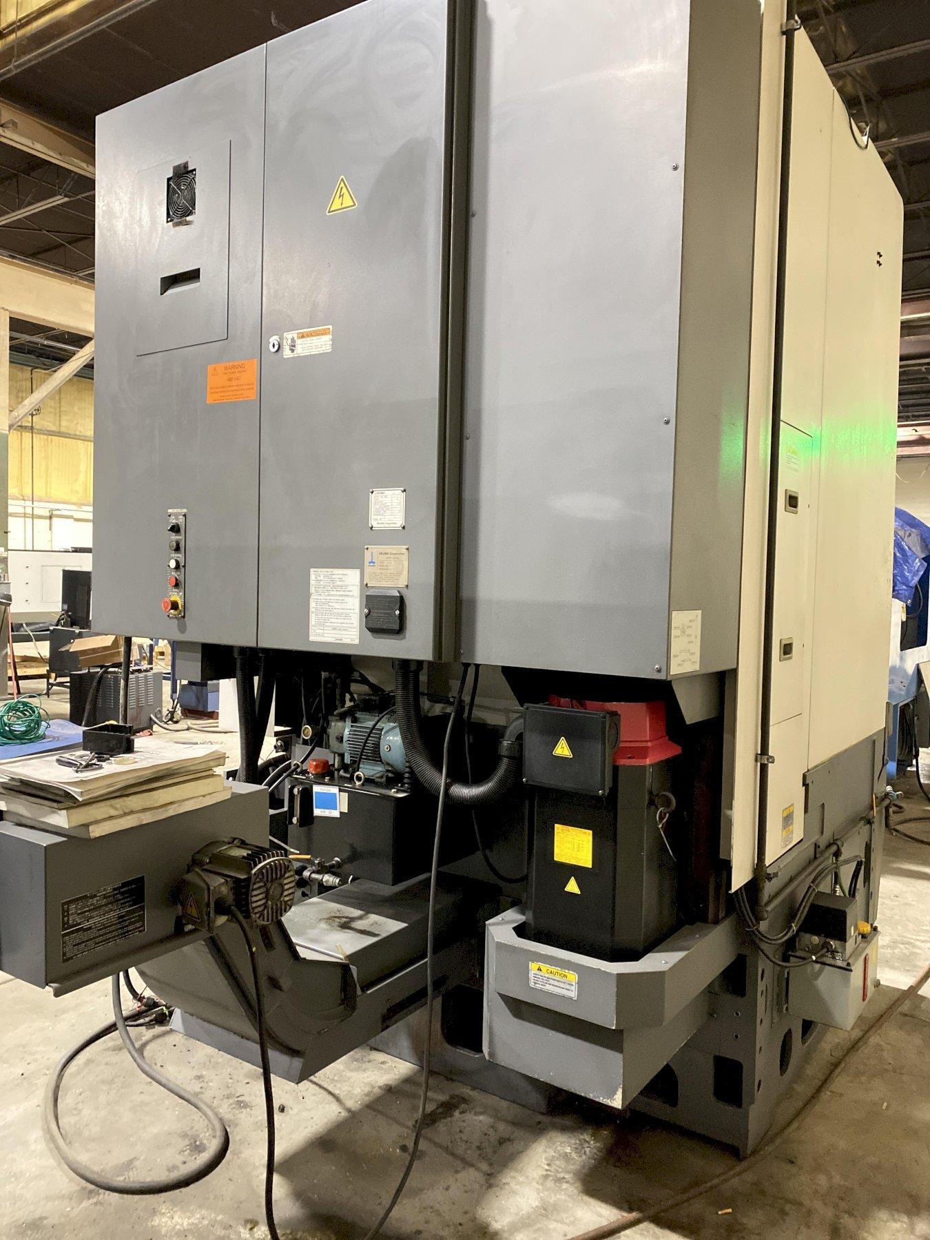 Okuma V60R CNC Vertical Turret Lathe 2010