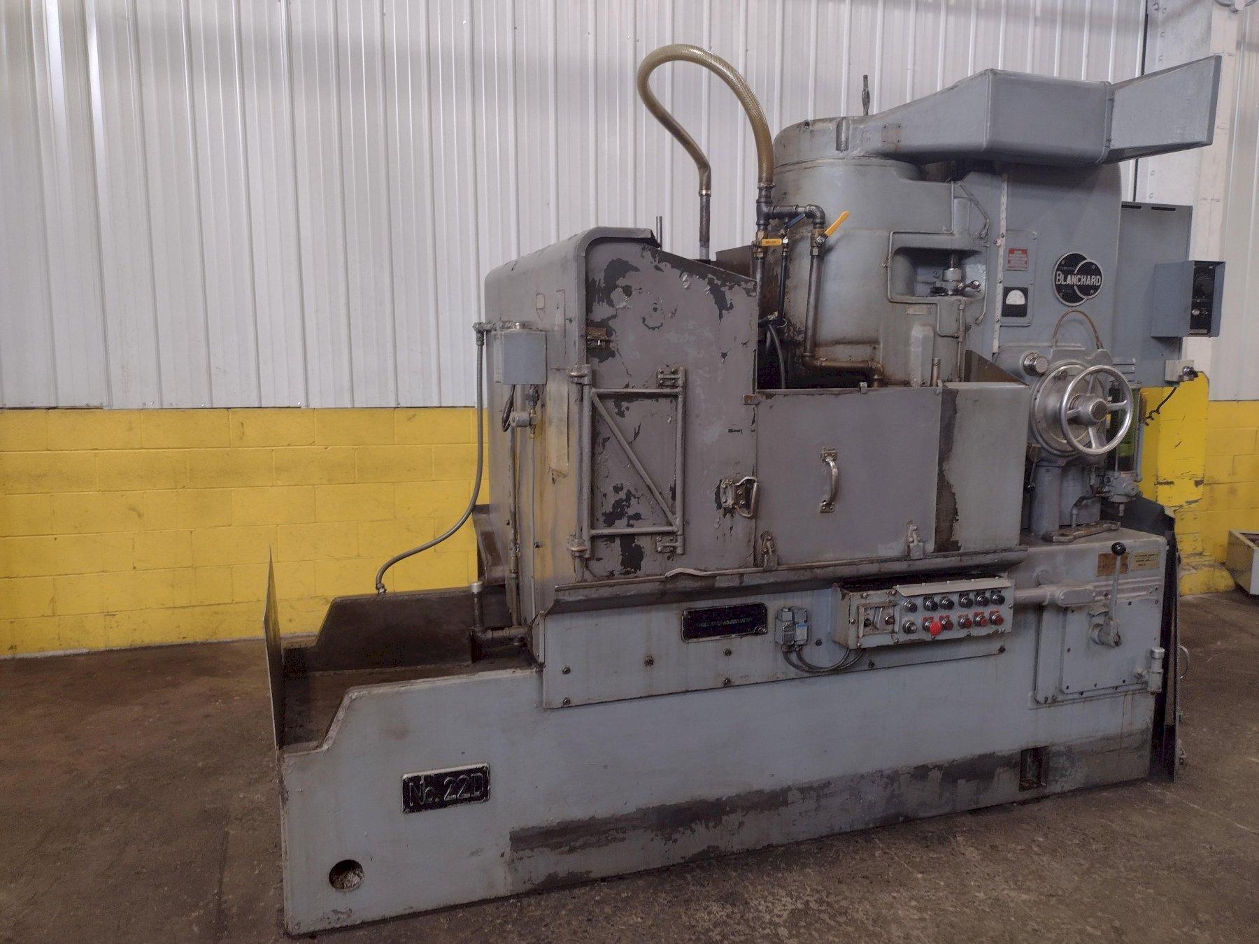 """42"""" BLANCHARD MODEL #22-D-42 ROTARY SURFACE GRINDER: STOCK #15161"""