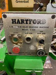 "1/8"" Hartford Model 2-425 DSSD High Speed Cold Header"