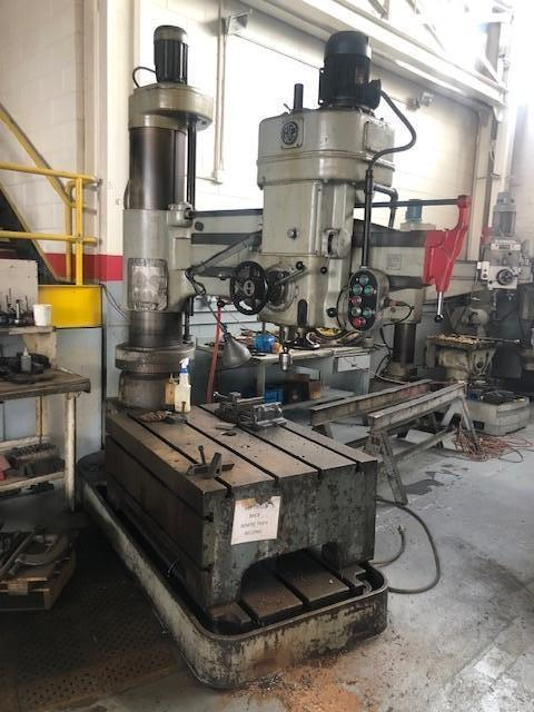 HCP RADIAL DRILL