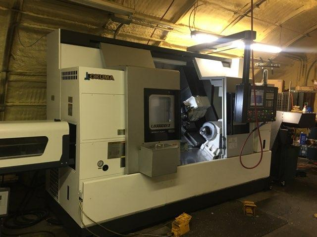 OKUMA LB3000EX-II/800 CNC LATHE WITH LIVE TOOLING, Y-AXIS AND SUB SPINDLE