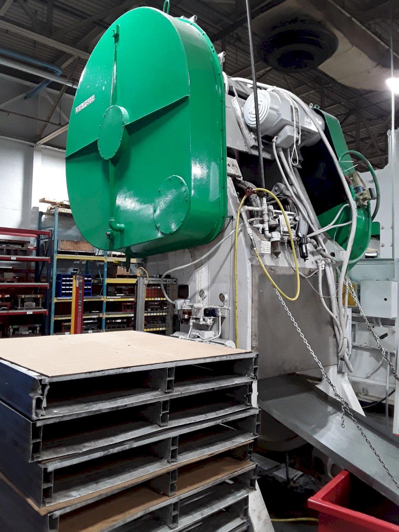 150 Ton Johnson OBI Press