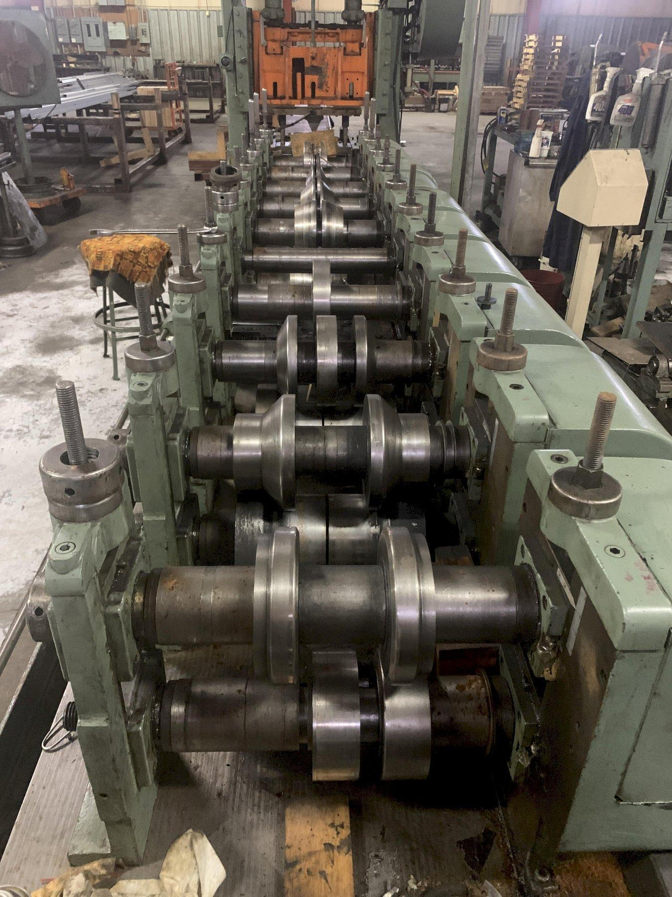 """10 STAND X 3"""" X 15""""  RODELL (YODER) GEAR BOX DRIVE ROLLFORMER: STOCK #15516"""